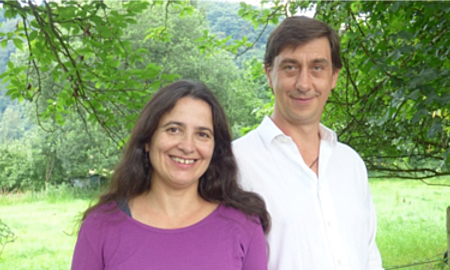 Foto Dr. Dima Zito und Ernest Martin